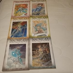 Nausicaa Of The Valley Of The Wind Vol 1-5, and 7